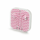 Handsfree 3.5 mm pink chevron