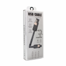 Data kabal UCA Stripe Micro USB crni 1m