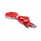 Data kabl Fashion micro USB crveni 1m