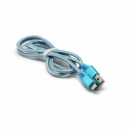Data kabl Frosted micro USB plavi 1m