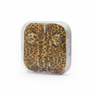 Handsfree 3.5 mm yellow leopard